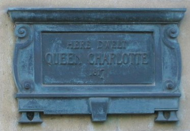 Queen Charlotte plaque