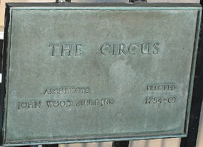 Plaque at the Circus