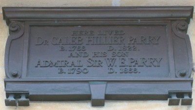Sir William Edward Parry plaque