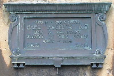 Field Marshal Frederick Roberts, Earl Roberts plaque