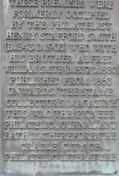 Henry Stafford Smith plaque