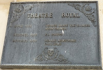 Theatre Royal plaque