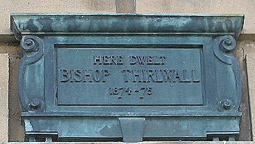Bishop Connop Thirlwall plaque