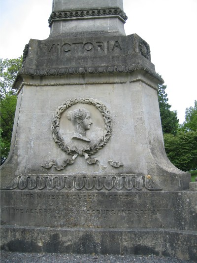 East face of Victoria Column