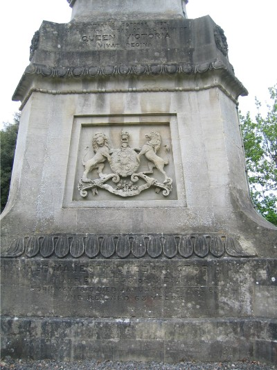 North-west face of Victoria Column