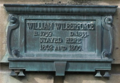 William Wilberforce plaque