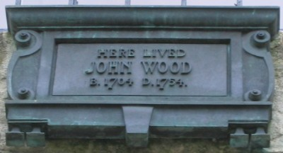 John Wood, the elder, plaque