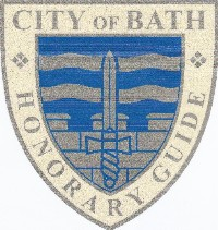 Badge worn by Mayor's Guides
