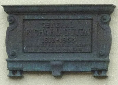 General Richard Guyon plaque