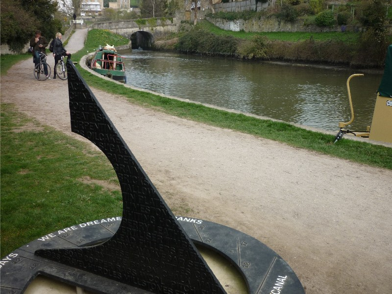 Location of Kennet & Avon Canal plaque