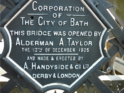Midland Bridge plaque