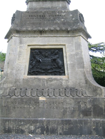 Soouth-west face of Victoria Column